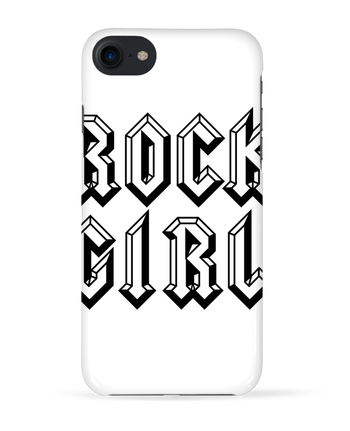 Case 3D iPhone 7 Rock Girl de Freeyourshirt.com