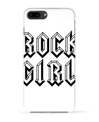 Case 3D iPhone 7+ Rock Girl by Freeyourshirt.com