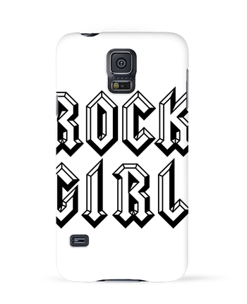 Case 3D Samsung Galaxy S5 Rock Girl by Freeyourshirt.com