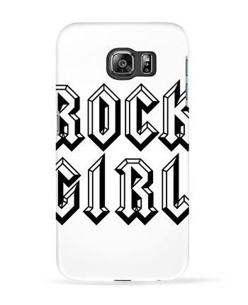 Case 3D Samsung Galaxy S6 Rock Girl - Freeyourshirt.com