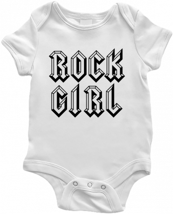 Baby Body Rock Girl by Freeyourshirt.com