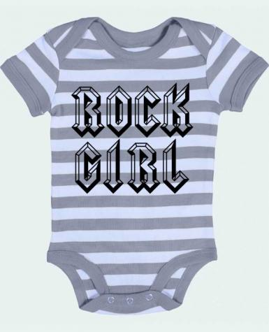 Baby Body striped Rock Girl - Freeyourshirt.com