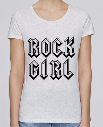 T-shirt Women Stella Loves Rock Girl by Freeyourshirt.com
