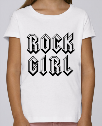 T-shirt Women Stella Draws Rock Girl by Freeyourshirt.com