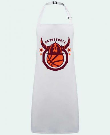 Apron no Pocket basketball casque viking logo sport club by  Achille
