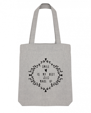 Tote Bag Stanley Stella Smile is my best make up by Les Caprices de Filles