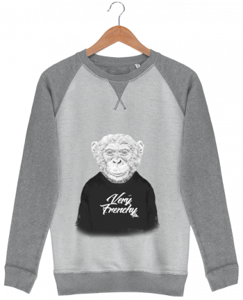 Sweat French Terry Monkey Very Frenchy by Bellec