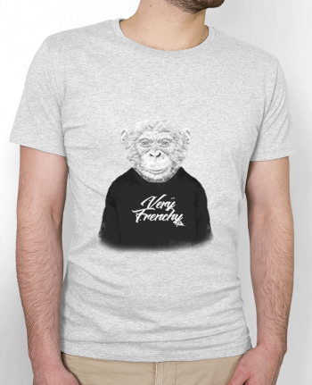 T-Shirt Men Stanley Hips Monkey Very Frenchy by Bellec