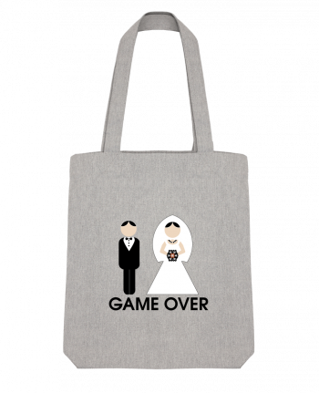Tote Bag Stanley Stella game over mariage by DUPOND jee
