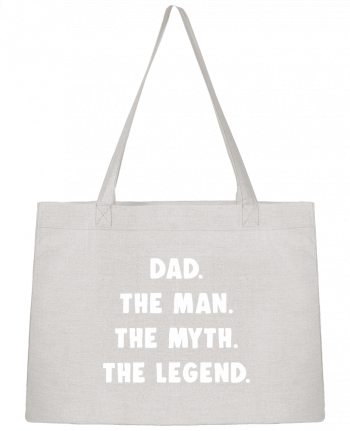Shopping tote bag Stanley Stella Dad the man, the myth, the legend by Bichette