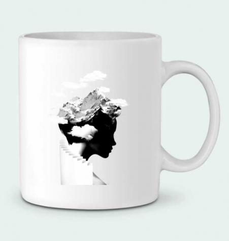 Ceramic Mug It's a cloudy day by robertfarkas