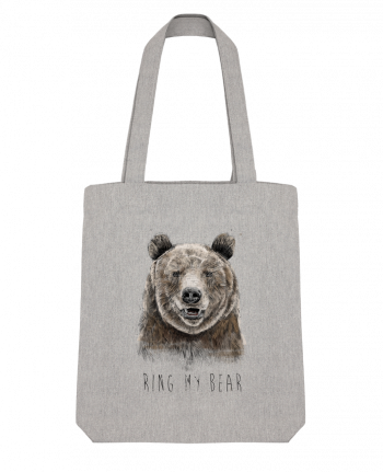 Tote Bag Stanley Stella Ring my bear by Balàzs Solti