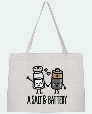 Shopping tote bag Stanley Stella A salt and battery by LaundryFactory