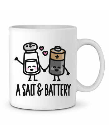 Ceramic Mug A salt and battery by LaundryFactory