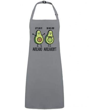 Apron no Pocket Avocado avocadont by  LaundryFactory