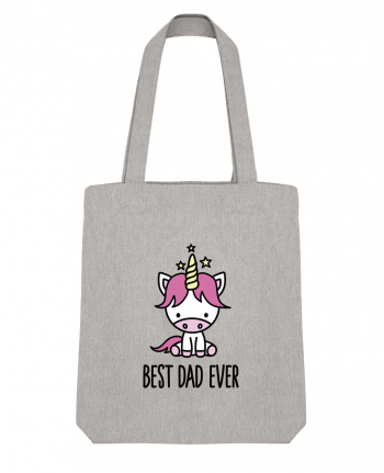 Tote Bag Stanley Stella Best dad ever by LaundryFactory