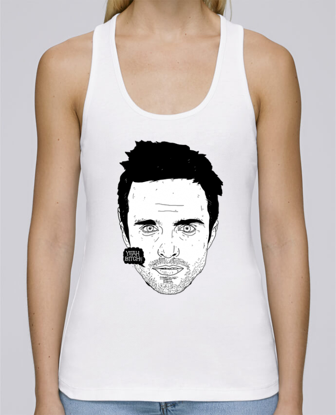 Tank Top Women Stella Dreams Organic Jesse Pinkman by Nick cocozza en coton Bio