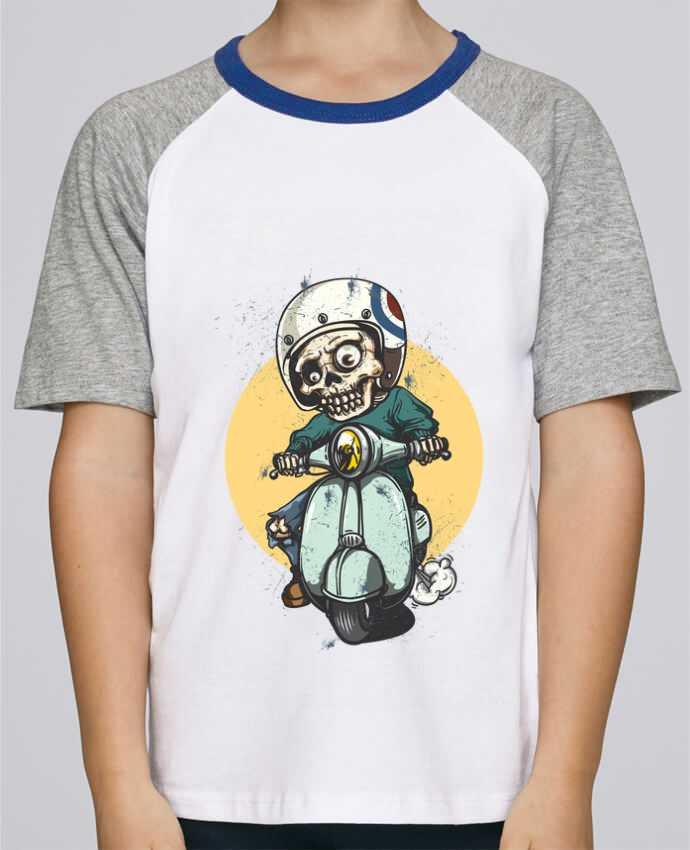 Tee-Shirt Child Short Sleeve Stanley Mini Jump art design by omgraphiste