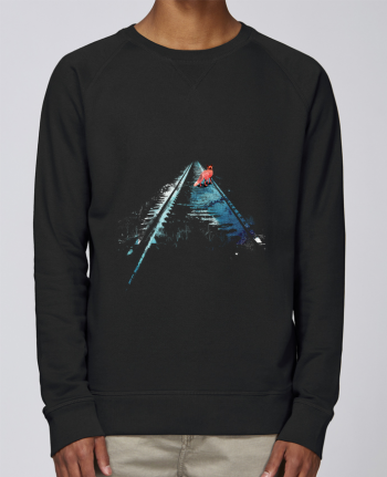 sweatshirt Men crew neck Stanley Strolls From nowhere to nowhere by robertfarkas