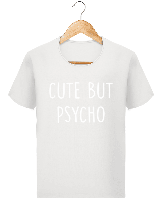 T-shirt Men Stanley Imagines Vintage Cute but psycho by Bichette