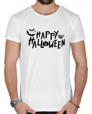 T-Shirt Men 180g Happy Halloween by tunetoo