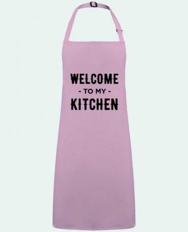 Apron no Pocket Welcome to my kitchen by  tunetoo