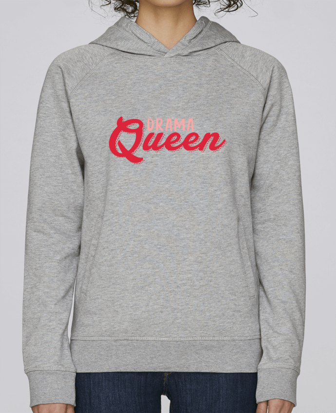 Hoodie Raglan sleeve welt pocket Drama Queen by tunetoo