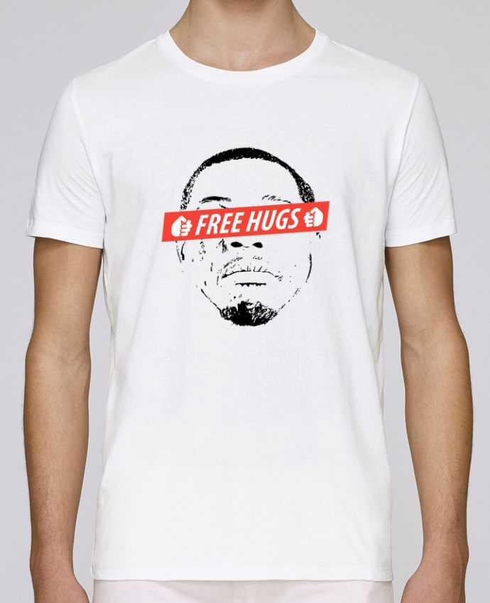 T-shirt crew neck Stanley leads Free Hugs by tunetoo