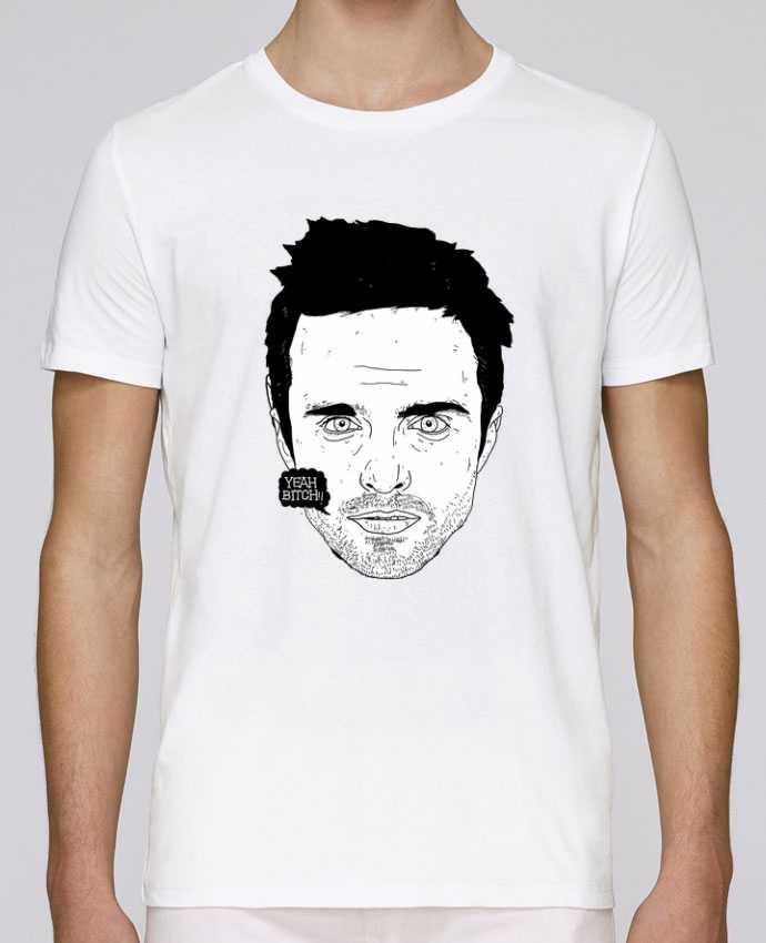 T-shirt crew neck Stanley leads Jesse Pinkman by Nick cocozza