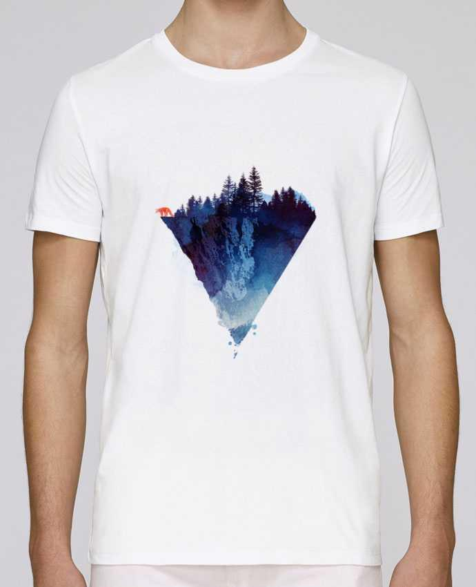 T-shirt crew neck Stanley leads Near to the edge by robertfarkas