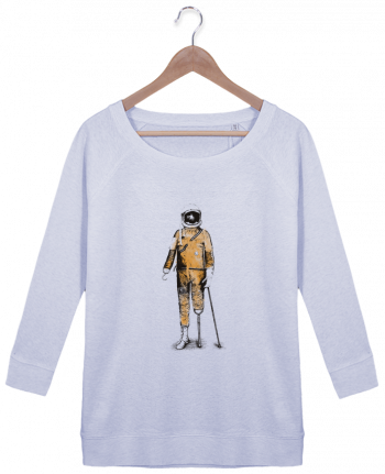 Sweatshirt Women 3/4 sleeve Stella Amazes Tencel Astropirate by Florent Bodart
