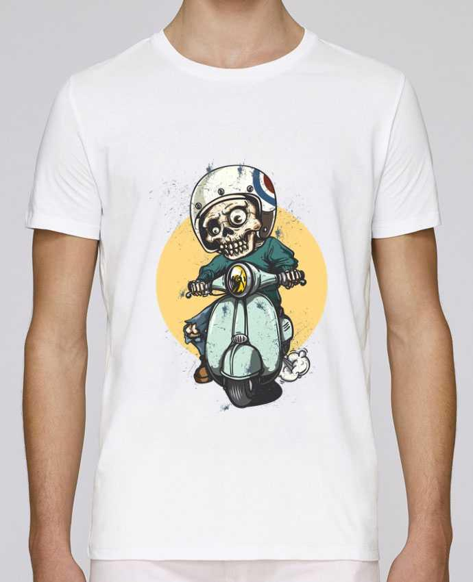 T-shirt crew neck Stanley leads art design by omgraphiste