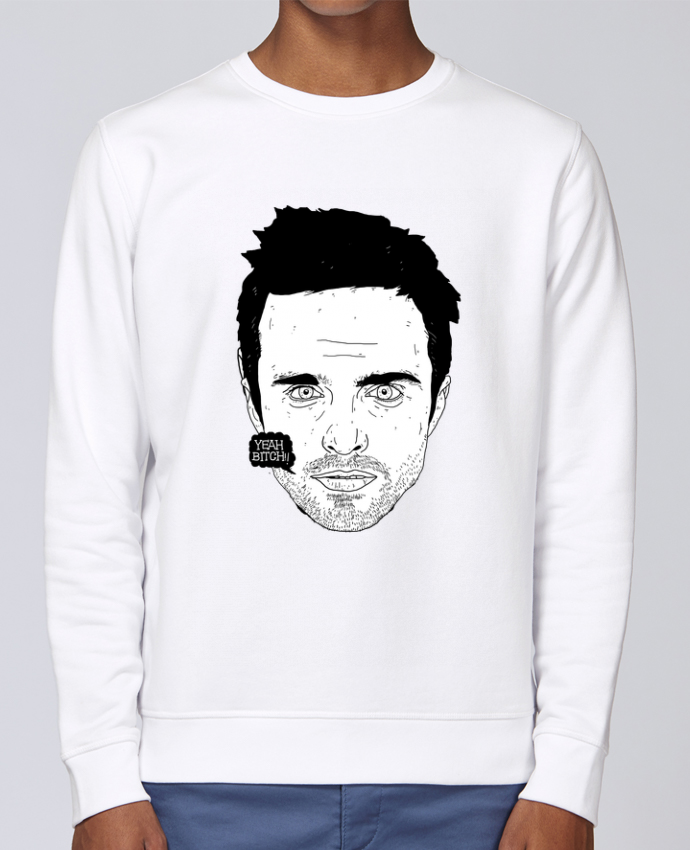 Unisex Sweatshirt Crewneck Medium Fit Rise Jesse Pinkman by Nick cocozza