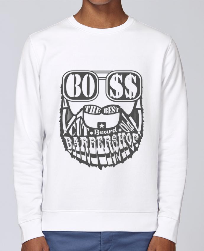 Unisex Sweatshirt Crewneck Medium Fit Rise Barbershop by SG LXXXIII