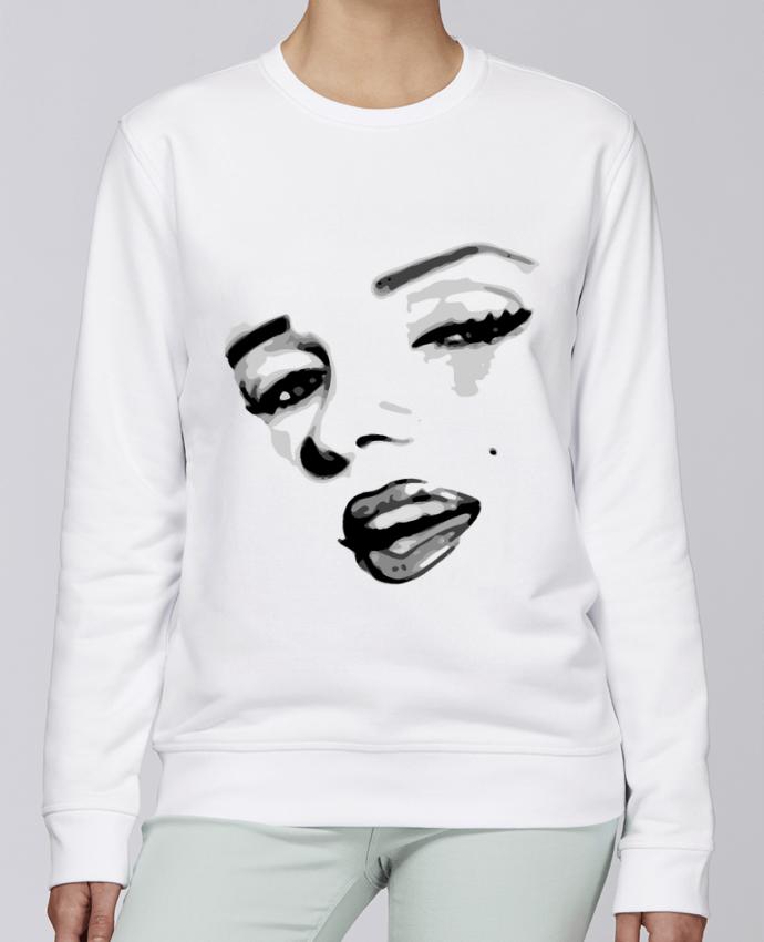 Unisex Sweatshirt Crewneck Medium Fit Rise Classic Pinup Art by GeeK My Shirt
