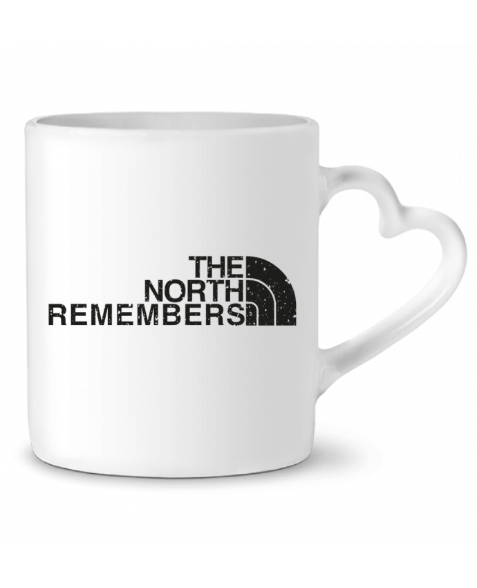 Mug Heart The North Remembers by tunetoo