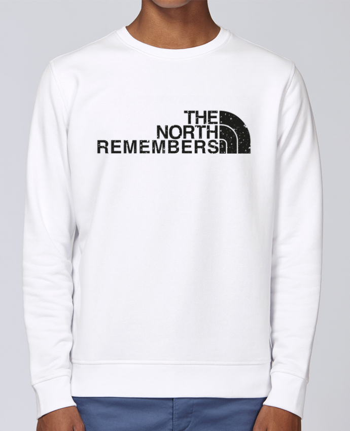 Unisex Sweatshirt Crewneck Medium Fit Rise The North Remembers by tunetoo