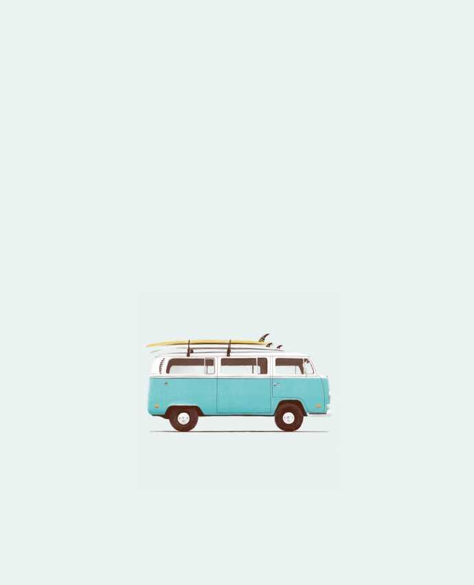 Tote Bag cotton Blue van by Florent Bodart