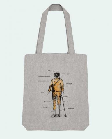 Tote Bag Stanley Stella Astropirate with text by Florent Bodart