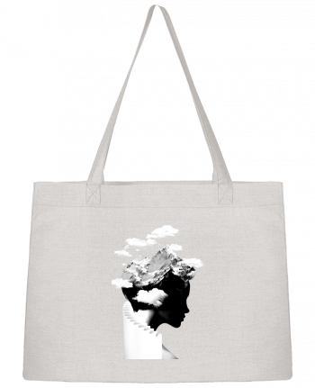 Shopping tote bag Stanley Stella It's a cloudy day by robertfarkas