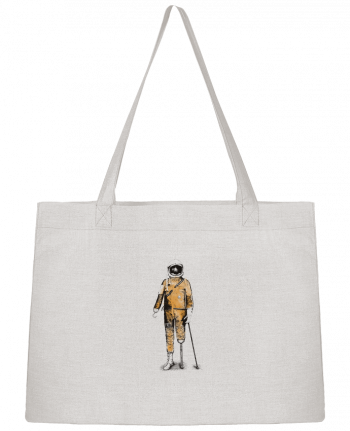 Shopping tote bag Stanley Stella Astropirate by Florent Bodart