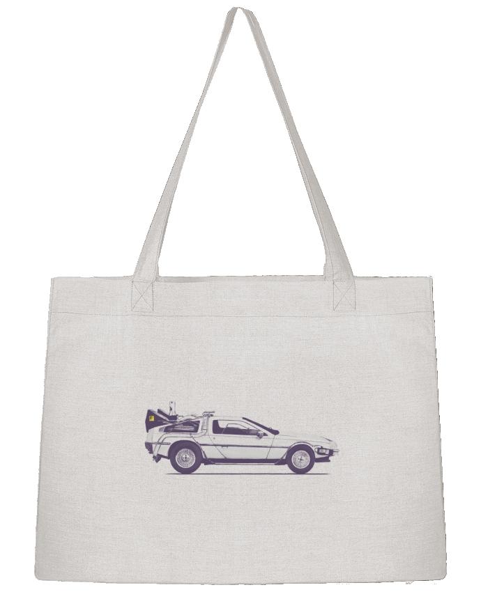 Shopping tote bag Stanley Stella Dolorean by Florent Bodart