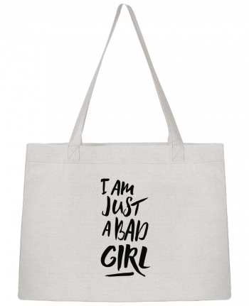 Shopping tote bag Stanley Stella I am just a bad girl by tunetoo