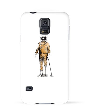 Case 3D Samsung Galaxy S5 Astropirate by Florent Bodart