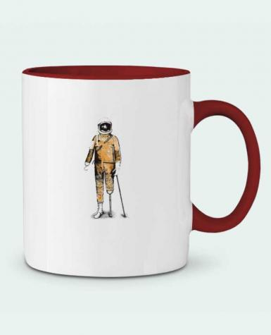 Two-tone Ceramic Mug Astropirate Florent Bodart