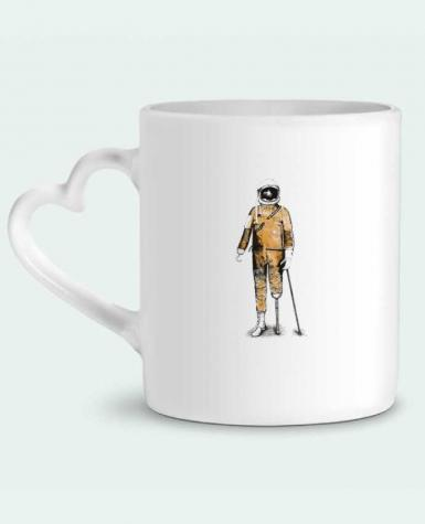 Mug Heart Astropirate by Florent Bodart