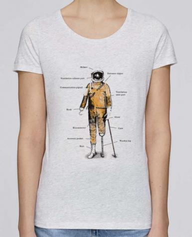 T-shirt Women Stella Loves Astropirate with text by Florent Bodart