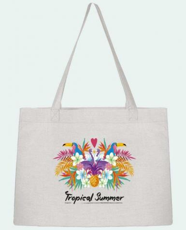 Shopping tote bag Stanley Stella Tropical Summer by IDÉ'IN